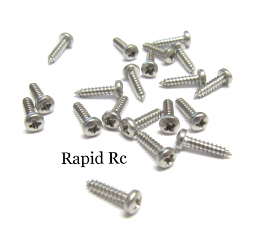 2.2mm x 13mm Stainless steel pan Head Phillips Self Tapping screw
